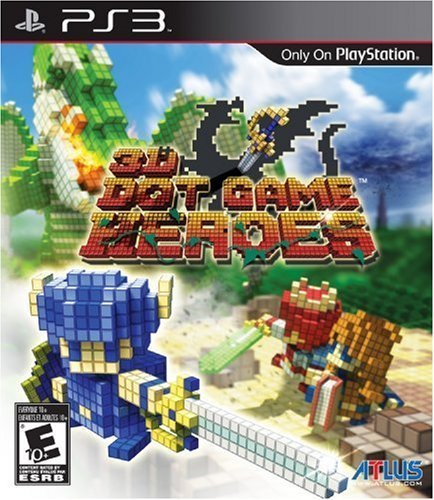 Ps3 3d Dot Game Heroes Atlus U.S.A. Inc. E10+
