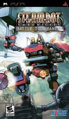 Psp Steambot Chronicles Battle Tournament