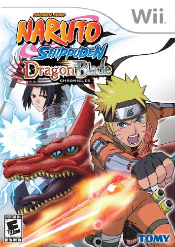 Wii Naruto Shippuden Dragon Blade Chronicles