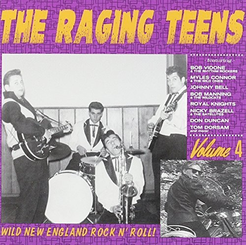 Raging Teens Vol. 4 Raging Teens Wild Ones Manning Vidone Raging Teens