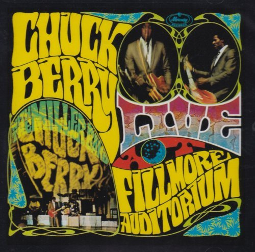 Chuck Berry Live At Fillmore Auditorium Sa