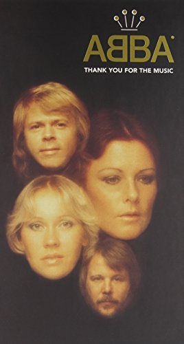 Abba Thank You For The Music Incl. 66 Pg. Booklet 4 CD