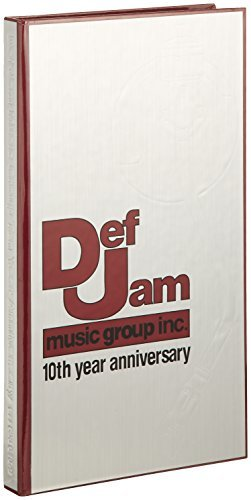 Def Jam Music Group 10th Year Anniversary Incl. 64 Pg. Booklet 4 CD