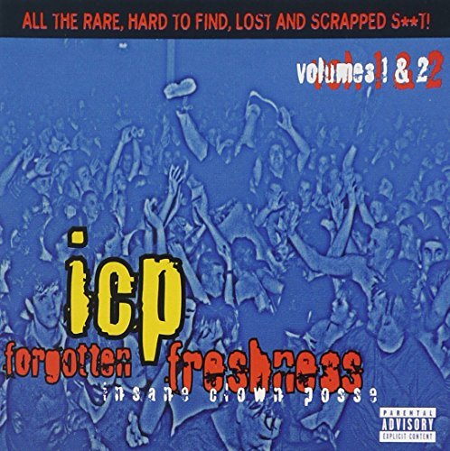 Insane Clown Posse Vol. 1 2 Forgotten Freshness Explicit Version 2 CD Set