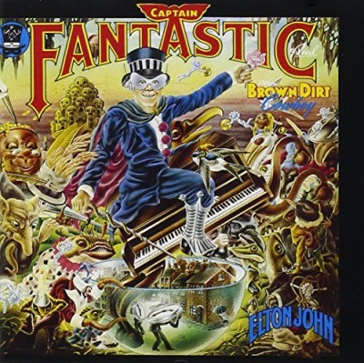 Elton John Captain Fantastic & The Brown Feat. Brown Dirt Cowboy Remastered