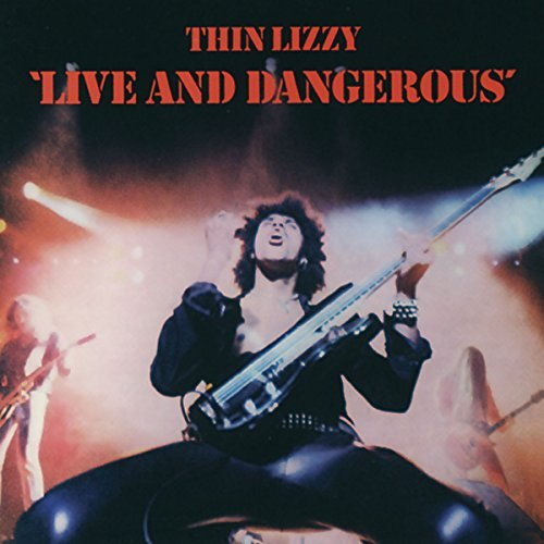 Thin Lizzy Live & Dangerous Import Eu Remastered