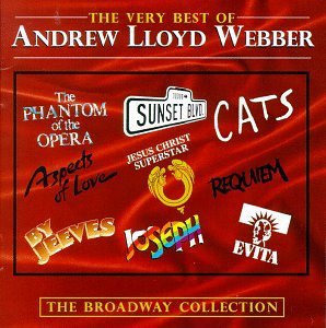 Andrew Lloyd Webber Very Best Of Broadway Collecti Cats Sunset Blvd. By Jeeves Aspects Of Love Evita Requiem