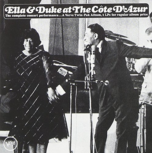 Fitzgerald Ellington Ella & Duke At The Cote D'azur 2 CD