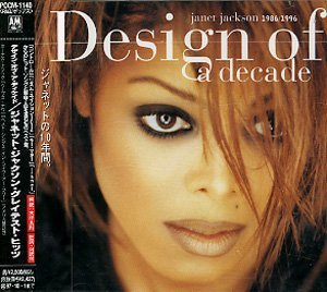 Janet Jackson Design Of A Decade 1986 96
