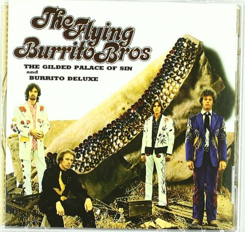 Flying Burrito Brothers Gilded Palace Of Sin & Burrito 2 On 1
