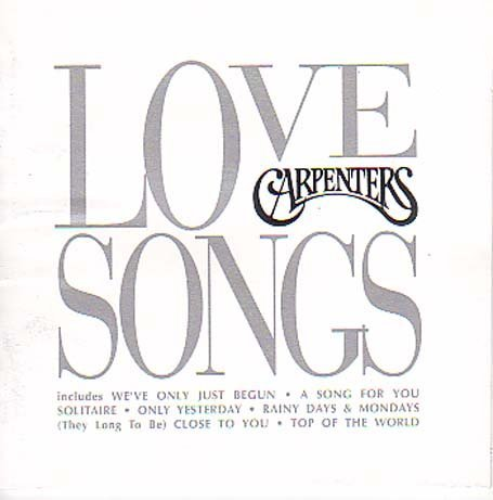 Carpenters Love Songs