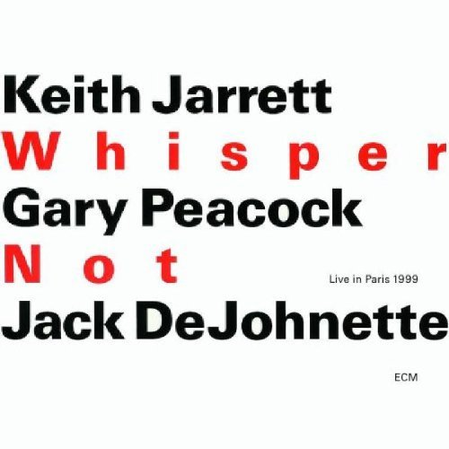 Keith Trio Jarrett Whisper Not 2 CD