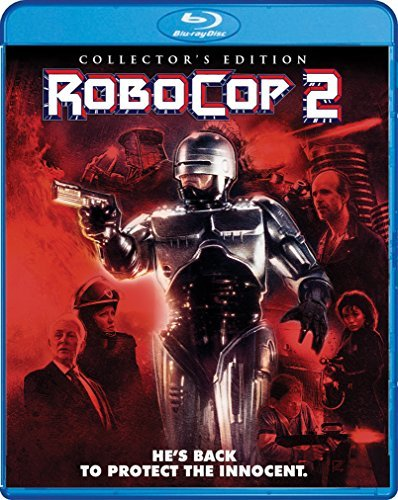 Robocop 2 Weller Allen O'herlihy Blu Ray R Collector's Edition