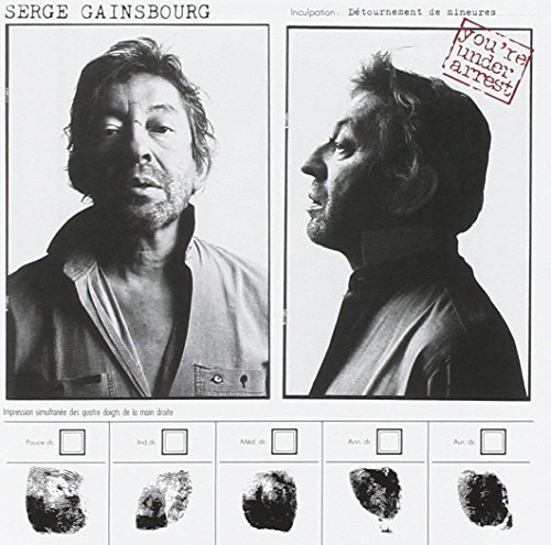 Serge Gainsbourg You're Under Arrest Import Eu