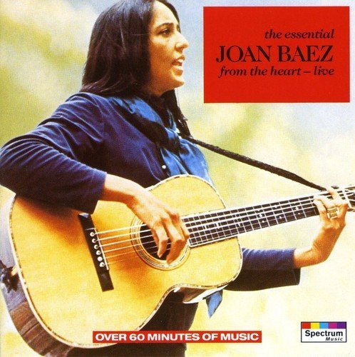 Joan Baez Essential From The Heart (live Import Eu