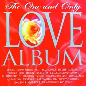 One & Only Love Album Williams 10cc Bee Gees Abba 2 CD