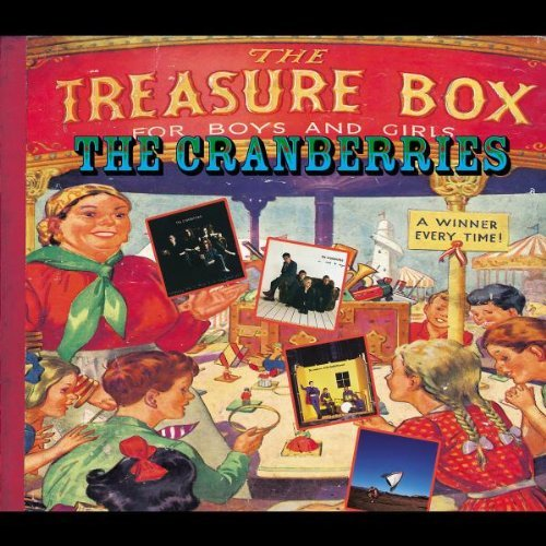 Cranberries Treasure Box Complete Sessions Incl. Bonus Tracks Remastered 4 CD Set