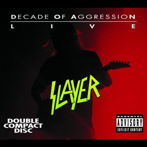 Slayer Live Decade Of Aggression Explicit Version 2 CD