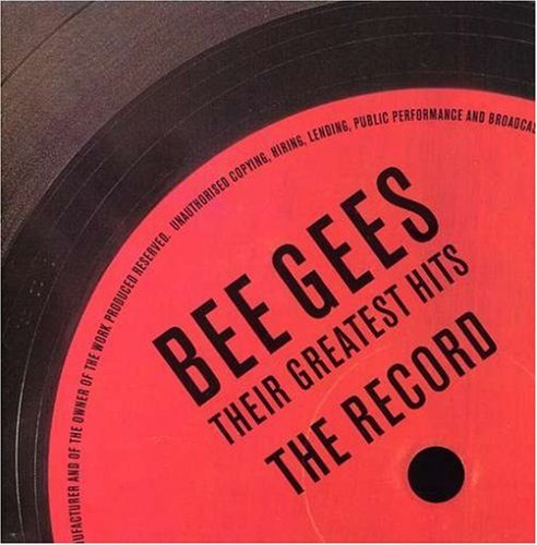 Bee Gees Their Greatest Hits The Record 2 CD Cass