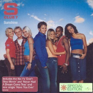 S Club 7 Sunshine Import Gbr