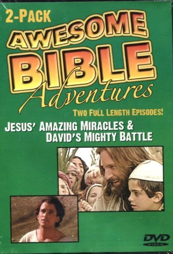 Awesome Bible Adventures Jesus' Amazing Miracles & David's Mighty Battle