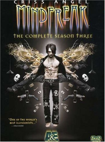 Criss Angel Mindfreak Criss Angel Mindfreak Season Season 3 Nr 3 DVD