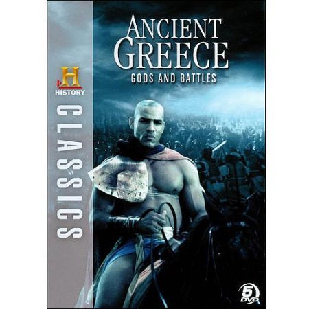 Ancient Greece Gods & Battles History Value Line Clr Bw Nr 5 DVD