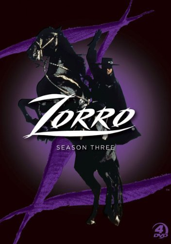Zorro Season 3 DVD
