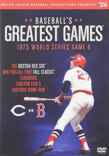 1975 World Series Game 6 Baseball's Greatest Games Nr