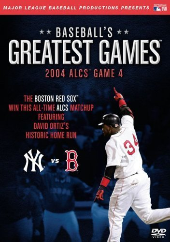 2004 Alcs Game 4 Baseball's Greatest Games Nr