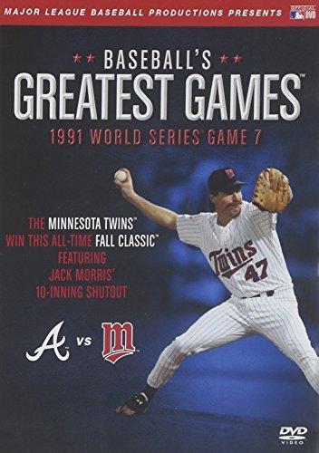 1991 World Series Game 7 Baseball's Greatest Games Nr