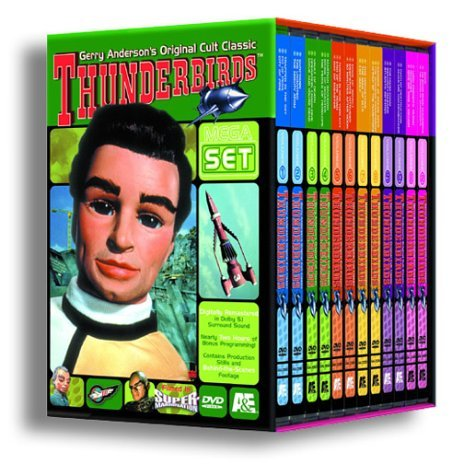 Thunderbirds Mega Set Clr Nr 12 DVD