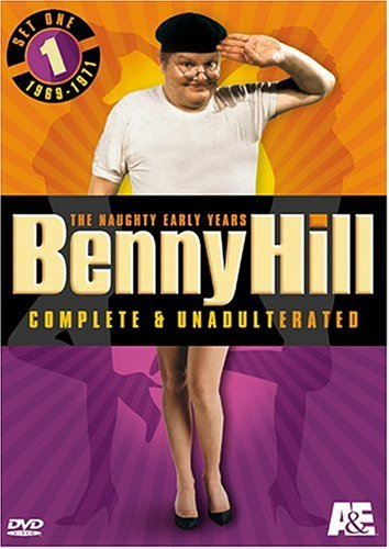 Benny Hill Complete & Unadulte Hill Benny Nr 3 DVD