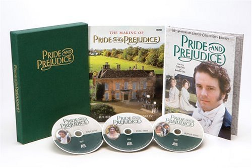 Pride & Prejudice (1995) Ehle Firth Harker Steadman Saw Clr Nr 3 DVD 10th An
