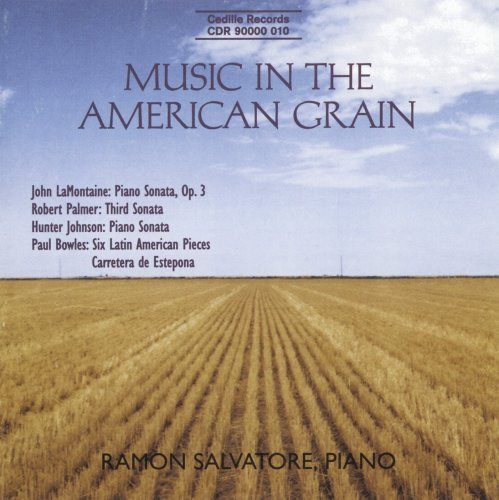J. Montaine Music In The American Grain Salvatore (pno)