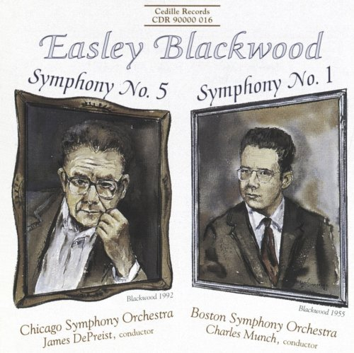 E. Blackwood Sym 1 5 Much & Depreist Various