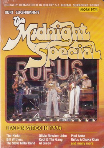 Burt Sugarman's Midnight Special Live On Stage In 1974