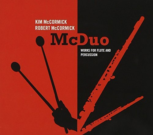 Lewis Adams Weisgall Reller Mo Mcduo Works For Flute & Percus Mccormick Duo