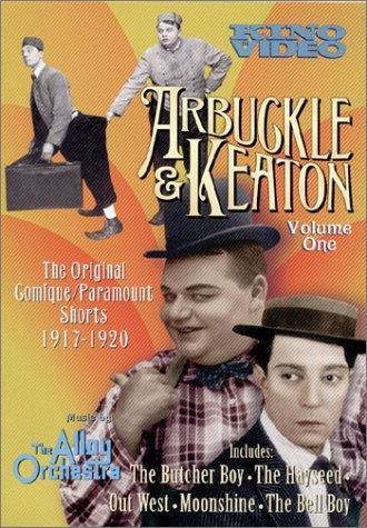 Arbuckle & Keaton Vol. 1 1917 1920 Original Comi Bw Nr