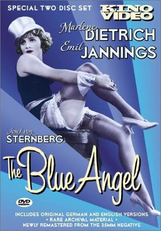 Blue Angel Jannings Dietrich Gerron Valet Bw Ger Lng Eng Sub Nr 2 DVD