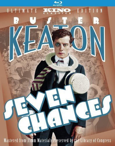 Seven Chances Ultimate Editio Keaton Buster Blu Ray Ws Nr