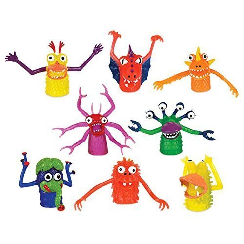 Novelty Finger Monsters 60 Display