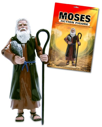 Toy Moses Action Figure