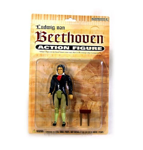 Toy Beethoven Action Figure