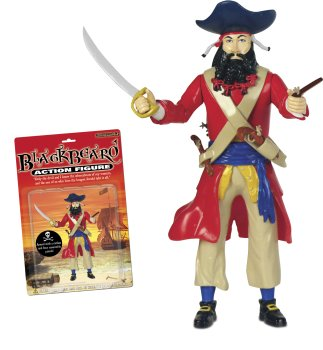 Toy Blackbeard Action Figure