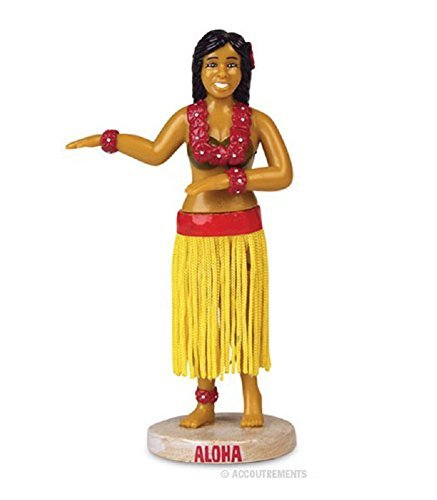 Gift Dashboard Hula Girl