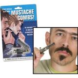 Gift Switchblade Mustache Comb