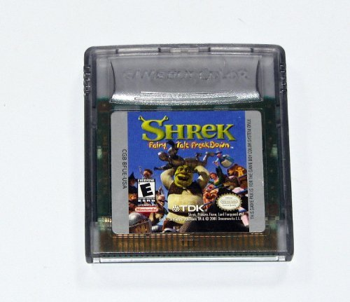 Gameboy Color Shrek Fairy Tales Freakdown Rp