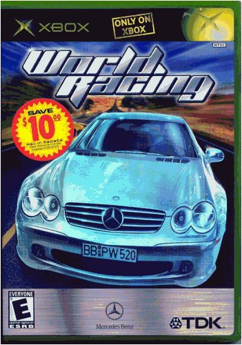 Xbox Mercedez Benz World Racing