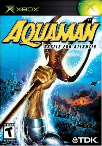 Xbox Aquaman Battle For Atlantis